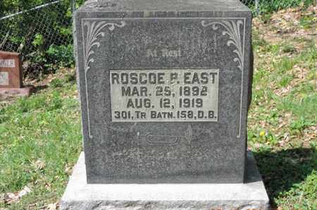 EAST, ROSCOE R - Pike County, Ohio | ROSCOE R EAST - Ohio Gravestone Photos