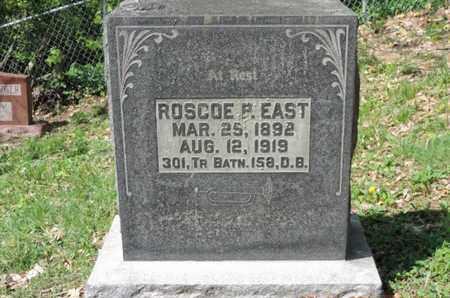 EAST, ROSCOE R - Pike County, Ohio   ROSCOE R EAST - Ohio Gravestone Photos