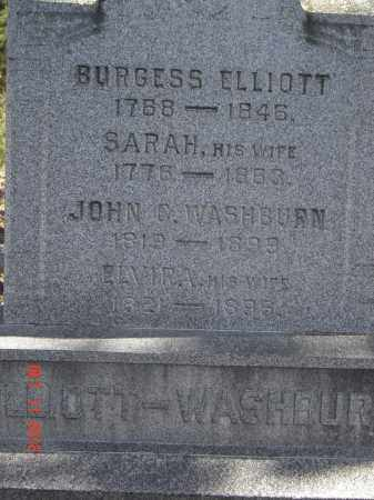 ELLIOTT, BURGESS - Pike County, Ohio | BURGESS ELLIOTT - Ohio Gravestone Photos