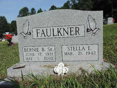 FAULKNER, BERNIE B. SR. - Pike County, Ohio | BERNIE B. SR. FAULKNER - Ohio Gravestone Photos