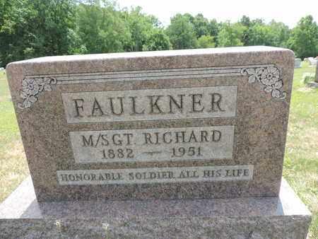 FAULKNER, RICHARD - Pike County, Ohio | RICHARD FAULKNER - Ohio Gravestone Photos
