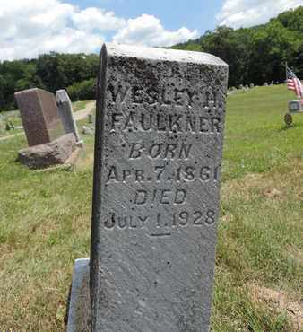 FAULKNER, WESLEY H. - Pike County, Ohio | WESLEY H. FAULKNER - Ohio Gravestone Photos