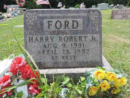 FORD, HARRY ROBERT JR. - Pike County, Ohio | HARRY ROBERT JR. FORD - Ohio Gravestone Photos