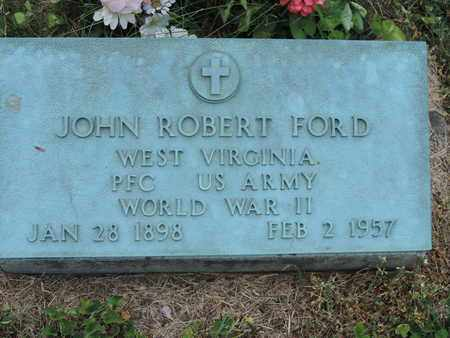 FORD, JOHN ROBERT - Pike County, Ohio | JOHN ROBERT FORD - Ohio Gravestone Photos