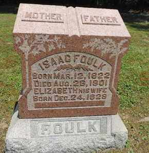 FOULK, ISAAC - Pike County, Ohio | ISAAC FOULK - Ohio Gravestone Photos
