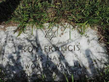 FRANCIS, ROY - Pike County, Ohio | ROY FRANCIS - Ohio Gravestone Photos