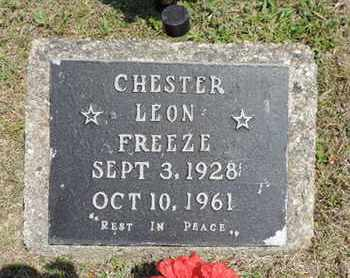 FREEZE, CHESTER LEON - Pike County, Ohio | CHESTER LEON FREEZE - Ohio Gravestone Photos