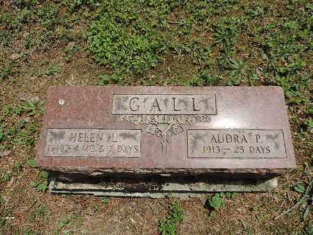 GALL, AUDRA P - Pike County, Ohio | AUDRA P GALL - Ohio Gravestone Photos