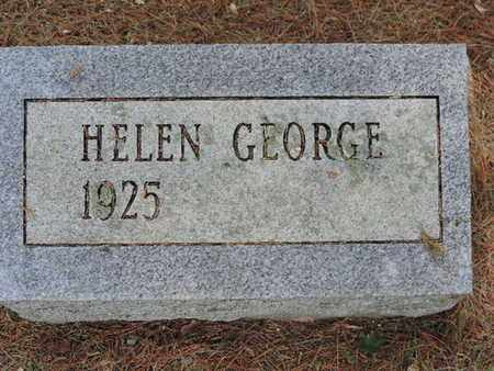GEORGE, HELEN - Pike County, Ohio | HELEN GEORGE - Ohio Gravestone Photos
