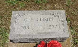 GIBSON, GUY - Pike County, Ohio | GUY GIBSON - Ohio Gravestone Photos