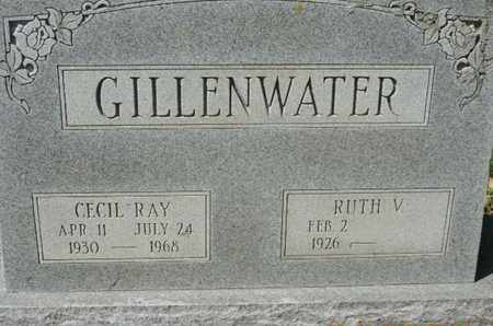 GILLENWATER, RUTH V. - Pike County, Ohio | RUTH V. GILLENWATER - Ohio Gravestone Photos