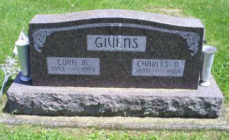 GIVENS, CORA M. - Pike County, Ohio | CORA M. GIVENS - Ohio Gravestone Photos