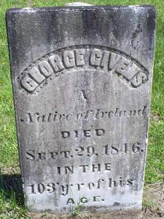 GIVENS, GEORGE - Pike County, Ohio | GEORGE GIVENS - Ohio Gravestone Photos