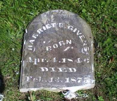 GIVENS, HARRIET B. - Pike County, Ohio | HARRIET B. GIVENS - Ohio Gravestone Photos