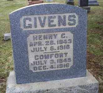 GIVENS, HENRY C. - Pike County, Ohio | HENRY C. GIVENS - Ohio Gravestone Photos