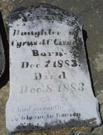 GIVENS, INFANT - Pike County, Ohio | INFANT GIVENS - Ohio Gravestone Photos