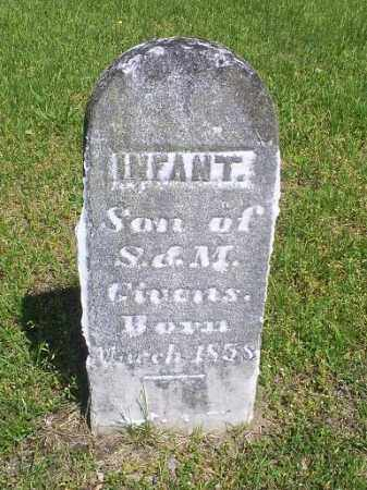 GIVENS, INFANT - Pike County, Ohio | INFANT GIVENS - Ohio Gravestone Photos