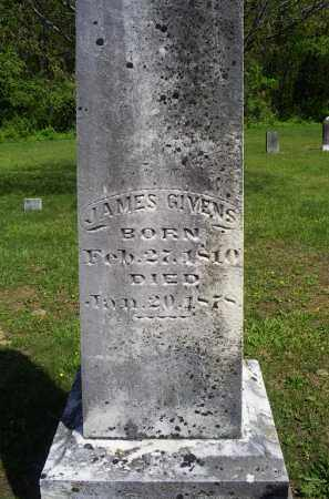 GIVENS, JAMES - Pike County, Ohio | JAMES GIVENS - Ohio Gravestone Photos