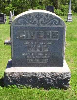 GIVENS, MARTHA - Pike County, Ohio | MARTHA GIVENS - Ohio Gravestone Photos