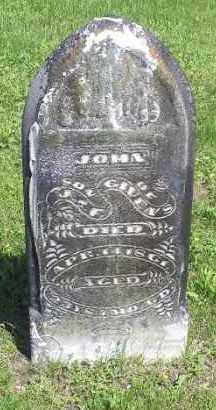 GIVENS, JOHN - Pike County, Ohio | JOHN GIVENS - Ohio Gravestone Photos