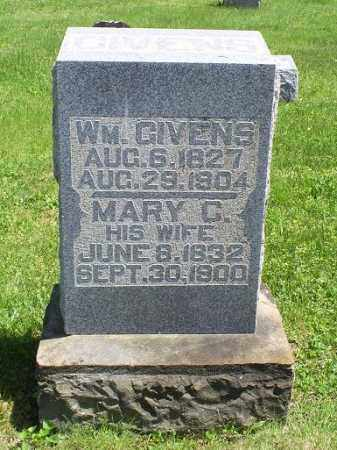 GIVENS, WM. - Pike County, Ohio | WM. GIVENS - Ohio Gravestone Photos