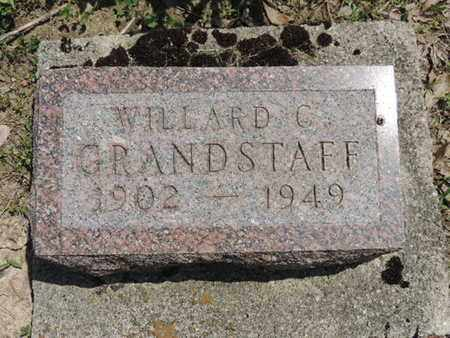GRANDSTAFF, WILLARD C. - Pike County, Ohio | WILLARD C. GRANDSTAFF - Ohio Gravestone Photos