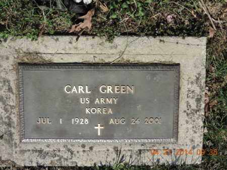 GREEN, CARL - Pike County, Ohio | CARL GREEN - Ohio Gravestone Photos