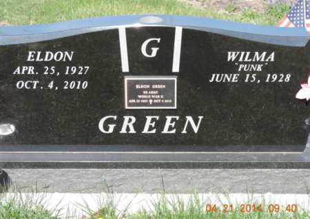 GREEN, ELDON - Pike County, Ohio | ELDON GREEN - Ohio Gravestone Photos