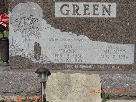 GREEN, FRANK - Pike County, Ohio | FRANK GREEN - Ohio Gravestone Photos