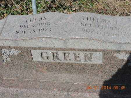 GREEN, THELMA L - Pike County, Ohio | THELMA L GREEN - Ohio Gravestone Photos