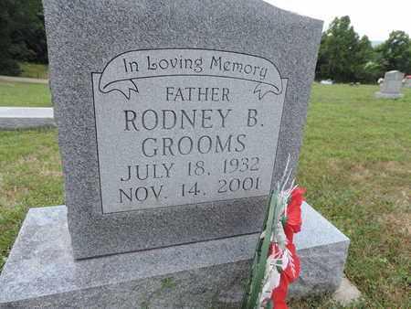 GROOMS, RODNEY B. - Pike County, Ohio | RODNEY B. GROOMS - Ohio Gravestone Photos