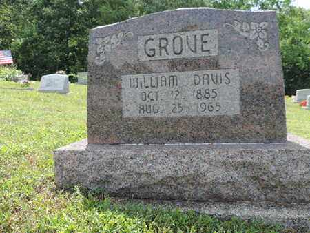 GROVE, WILLIAM DAVIS - Pike County, Ohio | WILLIAM DAVIS GROVE - Ohio Gravestone Photos