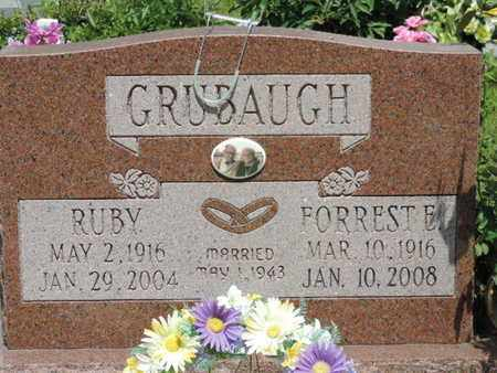 GRUBAUGH, FORREST E. - Pike County, Ohio | FORREST E. GRUBAUGH - Ohio Gravestone Photos