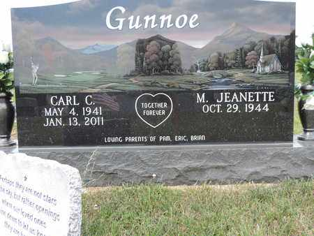 GUNNOE, CARL C. - Pike County, Ohio | CARL C. GUNNOE - Ohio Gravestone Photos