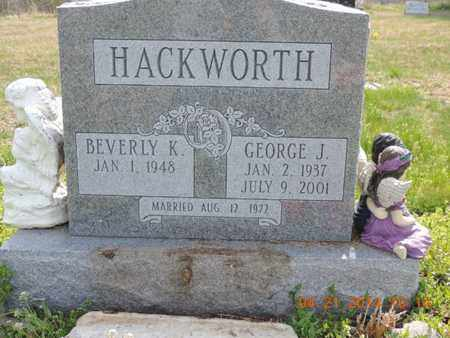 HACKWORTH, BEVERLY K - Pike County, Ohio | BEVERLY K HACKWORTH - Ohio Gravestone Photos
