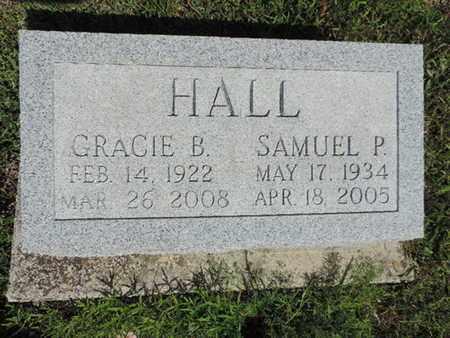 HALL, SAMUEL P. - Pike County, Ohio | SAMUEL P. HALL - Ohio Gravestone Photos