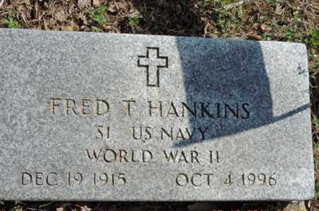 HANKINS, FRED T. - Pike County, Ohio | FRED T. HANKINS - Ohio Gravestone Photos