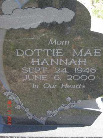 ISON HANNAH, DOTTIE MAE - Pike County, Ohio | DOTTIE MAE ISON HANNAH - Ohio Gravestone Photos