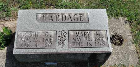 HARDAGE, MARY M. - Pike County, Ohio | MARY M. HARDAGE - Ohio Gravestone Photos