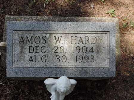 HARDY, AMOS W. - Pike County, Ohio | AMOS W. HARDY - Ohio Gravestone Photos