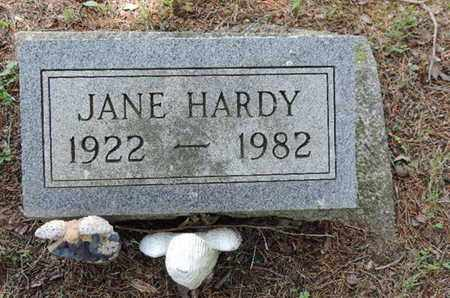 HARDY, JANE - Pike County, Ohio | JANE HARDY - Ohio Gravestone Photos