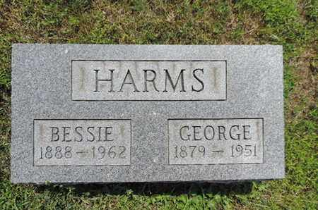 HARMS, GEORGE - Pike County, Ohio | GEORGE HARMS - Ohio Gravestone Photos