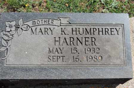 HARNER, MARY K - Pike County, Ohio | MARY K HARNER - Ohio Gravestone Photos