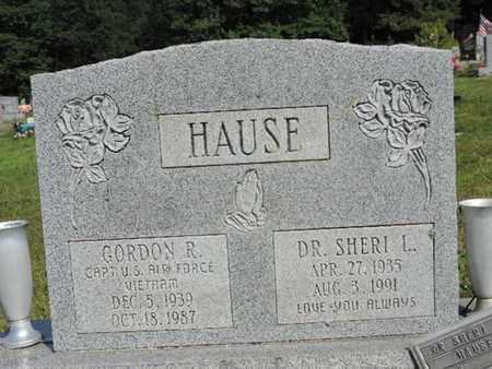 HAUSE, GORDON R. - Pike County, Ohio | GORDON R. HAUSE - Ohio Gravestone Photos