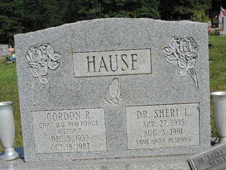 HAUSE, DR. SHERI L - Pike County, Ohio | DR. SHERI L HAUSE - Ohio Gravestone Photos