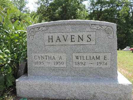 HAVENS, WILLIAM E. - Pike County, Ohio | WILLIAM E. HAVENS - Ohio Gravestone Photos