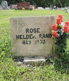HELDERBRAND, ROSE - Pike County, Ohio | ROSE HELDERBRAND - Ohio Gravestone Photos