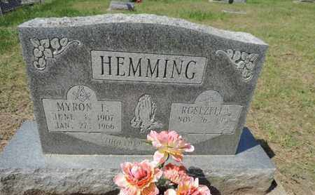 HEMMING, ROSEZELLA - Pike County, Ohio | ROSEZELLA HEMMING - Ohio Gravestone Photos