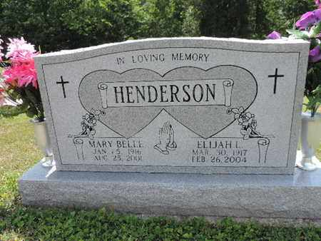 HENDERSON, MARY BELLE - Pike County, Ohio | MARY BELLE HENDERSON - Ohio Gravestone Photos