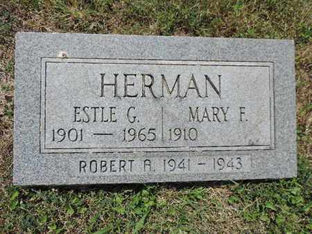 HERMAN, MARY F. - Pike County, Ohio | MARY F. HERMAN - Ohio Gravestone Photos